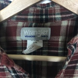 Vintage Tops - [90's] 🥾 Wrangle Flannel